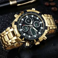 popular gold mens big face watches buy cheap gold mens big face gold mens big face watches
