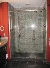 Hard Rock Hotel and Casino Tulsa: the walk in shower.
