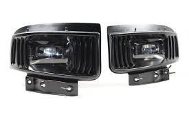 Cyber White Fog Lights Z06 Vette Lights New High Powered Morimoto Fog Light