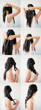 Diy Interwoven 3 Strand Braid