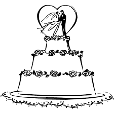 wedding cake clipart black and white. Wonderful Cake Graphic Royalty Free Collection Of Elegant High Quality Free Picture  Library Wedding Cake Clipart Intended Cake Clipart Black And White D