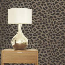 Leopard Print Bedroom Accessories Luxury Leopard Print Wallpaper 10m Room Decor All Colours Tiger