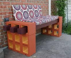 cinderblock furniture. Furniture Diy Patio Cinder Blocks Best Our Take On Bench Idea Using Posts And Cinderblock Pic Of Popular Wood