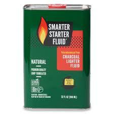 smarter starter fluid 32 fl oz charcoal lighter at