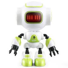 <b>jjrc r9 ruby touch</b> control diy gesture mini smart voiced alloy robot toy ...
