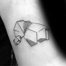 40 Jednoduchých Geometrických Tetování Pro Muže Návrh Nápady S Tvary