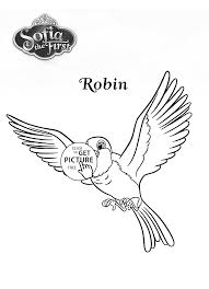 Robin Bird From Sofia The First