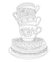 tea party coloring pages tea party coloring pages tea party coloring pages also from elegant tea tea party coloring pages