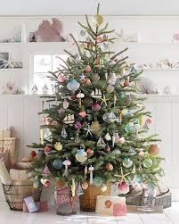 Weihnachtsbaum Im Skandinavischen Vintage Look