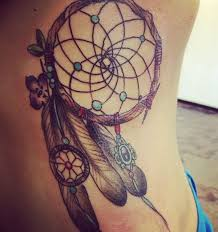 Pictures Of Dream Catcher Tattoos Dreamcatcher Tattoos For A Good Night Sleep 55