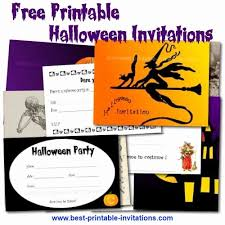 Free Halloween Birthday Invitation Templates Halloween Party Invitation Template Free Wilkesworks