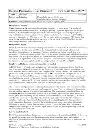 Hospital Pharmacist Resume Best Sales Lewesmr Pharmacy Technician ...