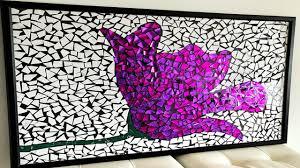 Simple Mosaic Art Designs Diy Paper Mosaic Wall Art Home Decor Ideas