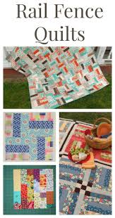 Quilting Designs For A Rail Fence Quilt 21 Free Rail Fence Quilt Patterns Rail Fence Quilt