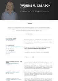 Resume For Physical Therapist Physical Therapist Resume Samples And Templates Visualcv