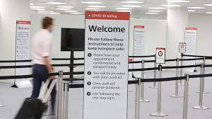 which airports are offering covid 19
