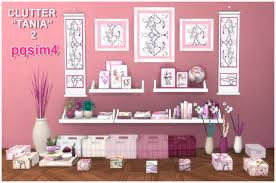 Clutter Tania 2. Sims 4 Custom Content.