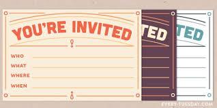 Freebie Printable Invitation Postcard