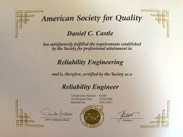 certified reliability engineer american society for quality information about the cre certified reliability engineer