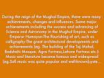 Mughal Empire Accomplishments