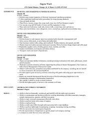 Hotel Housekeeping Resume Example Hotel Housekeeper Resume Samples Velvet Jobs 9
