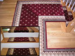 carpet stair treads. all treads are finished on sides carpet stair \