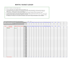 Free General Ledger Template Complete Guide Example Accounting Photo