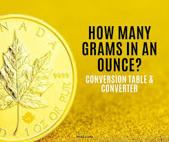 How Many Grams In An Ounce Conversion Table Converter