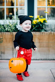 easy children s costumes mickey mouse