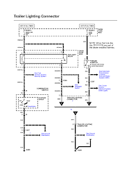repair guides wiring diagrams wiring diagrams 16 of 27 trailer lighting connector electrical schematic honda accessory 1998