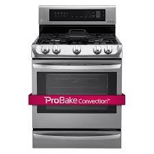 gas range. Gas Single Oven Range With ProBake Convection®, EasyClean®