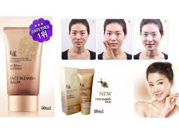 blemish balm bb cream spf30 pa 10 ml foundation makeup beauty color photo with no makeup welcos bb cream no makeup face blemish balm whitening