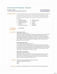 Boeing Security Officer Sample Resume Resume Format For Security Supervisor Unique Security Guards 13
