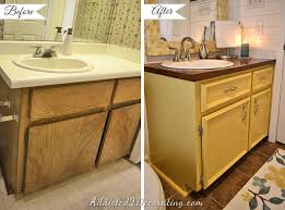 painting bathroom vanity before and after. small bathroom vanity makeover with diy doors and drawer fronts paint painting before after