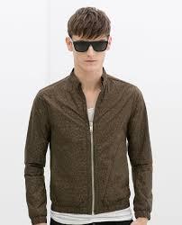 faux leather jacket men zara special jacket zara fashion