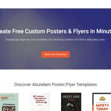 How To Make A Flyer Online Free Designcap Poster Maker Review November 2019 Cloudee Reviews