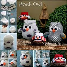 view in gallery diy sock owls wonderul diy cute sock owl