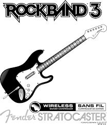 su96561y2510r rock band wireless fender stratocaster guitar