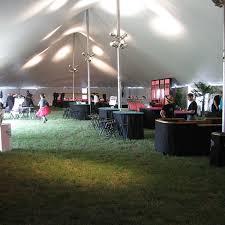 white tent lighting al