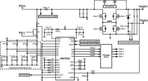 micro inverter single line diagram micro image microcontroller based power inverter circuit diagram diagram on micro inverter single line diagram