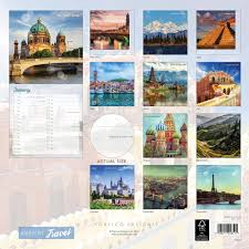 Travel Calendar Ambient Travel Calendar 2019 Calendar Club Uk