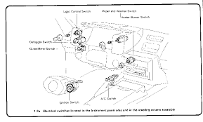 1988 geo prizm engine diagram the mr2oc online parts catalog starter · switch