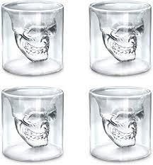 Viktorwan Skull Glasses, Shot Glasses, Funny Crystal ... - Amazon.com