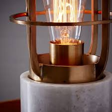 Mini Industrial Cage Lamp west elm