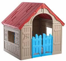 Детский <b>игровой дом Keter Foldable</b> Playhouse складной 17202656