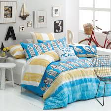 bedroom ideas beach theme bedding with floating house on the