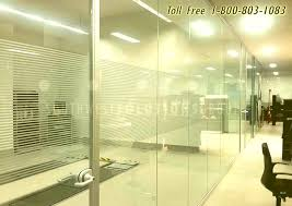 partition wall office. Glass Partition Wall Office Demountable Frosted Walls Divide Space Photos D
