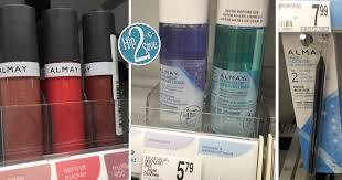 high value 5 2 almay items coupon makes for big savings at walgreens target