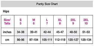 Maidenform Size Chart Maidenform Panties Size Chart Best Picture Of Chart