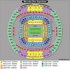 Sugar Bowl Seating Chart 21 Up To Date Alabama Seating Chart